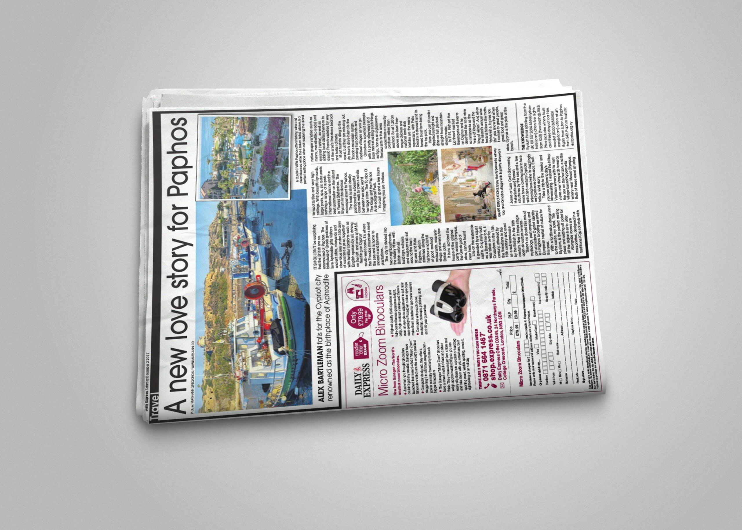 Newspaper Mockup x